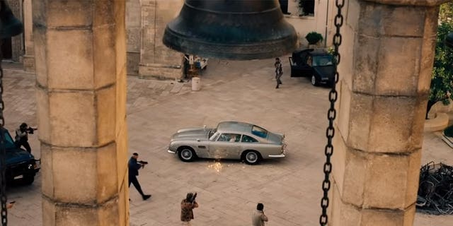 """""""No Time to Die"""" was shot on the streets of Matera, Italy."""