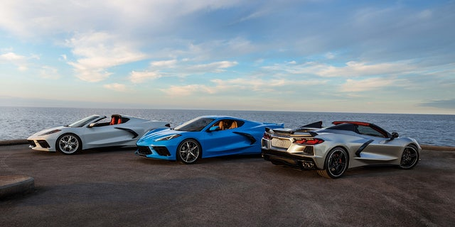 2021 Chevrolet Corvette Stingray Coupe and Convertible are manufactured in Bowling Green, Kentucky.