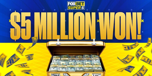 FOX Bet Super 6 has now given away $5 million – are you next to win?