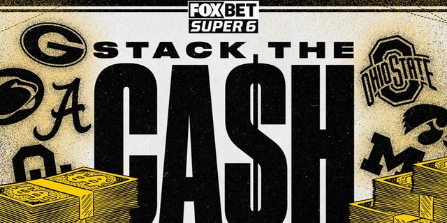 FOX Bet Super 6: How to 'Stack the Cash' in college football Week 6