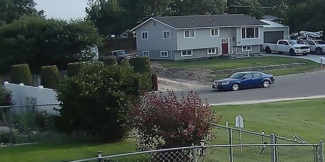 Investigators are seeking help in identifying the driver of a a blue Dodge Avenger, model year 2010-2011, seen driving on Southwest 8th Street at 6:56 p.m. on July 27. Police said the unidentified individuals are not considered suspects or persons of interest.