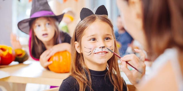 Halloween season is a time when young trick-or-treaters like to don face paint as they go out as their favorite animal, superhero, ghoul or princess.