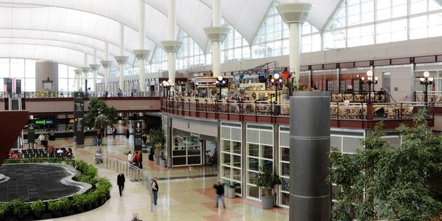 Denver International Airport interior (iStock)