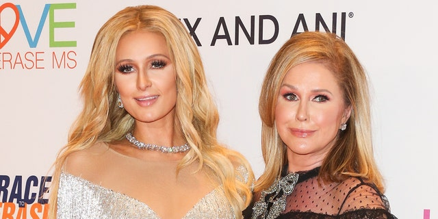 Kathy Hilton (R) said Paris Hilton (L) would missing for days at a time during her partying era.