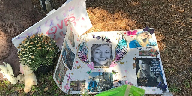 Memorial for Gabby Petito grows near City Hall in North Port, Florida. Here are some of the heartfelt messages left in her memory
