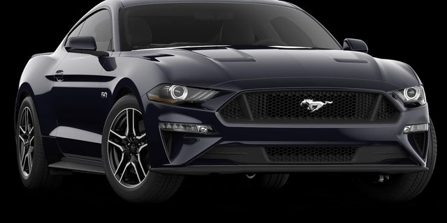 The Ford Mustang V8 is built in Flat Rock, Michigan.