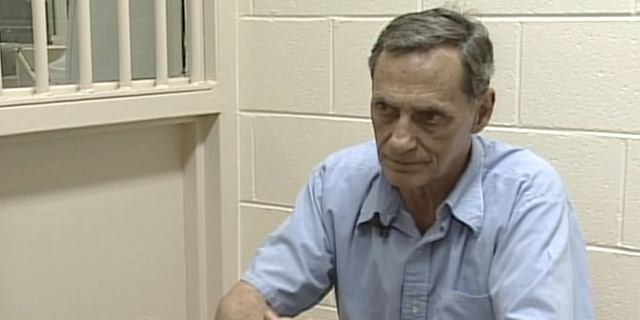 An image of serial rapist Richard Ausley in prison from the Fox Nation series 'Lost Then Found: Tales of a Kidnapping'