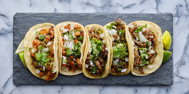 Today, tacos continue to become more popular and can be found just about anywhere, from fast food chains to gourmet restaurants, the Farmer's Almanac says. (iStock)