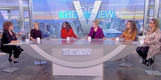 """Sen. Elizabeth Warren, D-Mass., joined """"The View"""" to discuss Big Tech and other issues."""