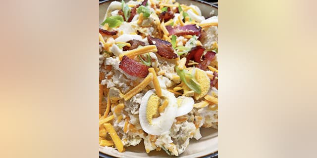Alicia Shevetone, cookbook author and creator of Dink Cuisine, shares her bacon potato salad recipe with Fox News.