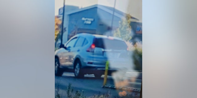 The three suspects fled in a light blue Honda CRV with no license plates. They were last seen heading north on I-5.