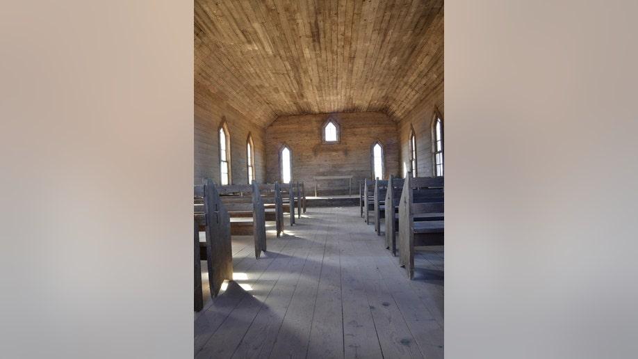 Photos: Inside the 'Rust' movie set church where Halyna Hutchins was shot
