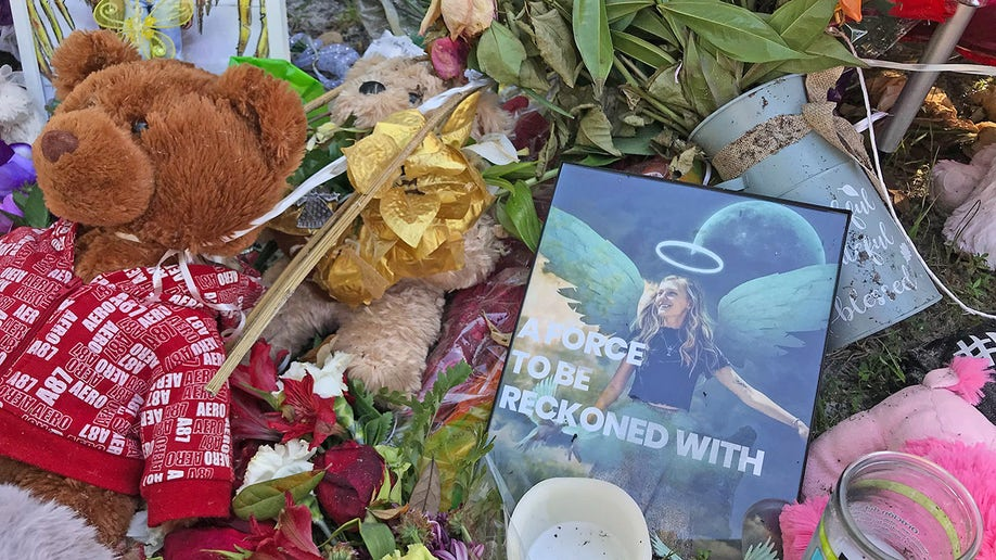 Memorial for Gabby Petito grows near City Hall in North Port, Florida