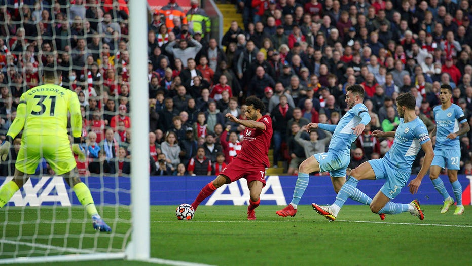 Salah brilliance not enough as Liverpool draws 2-2 with City