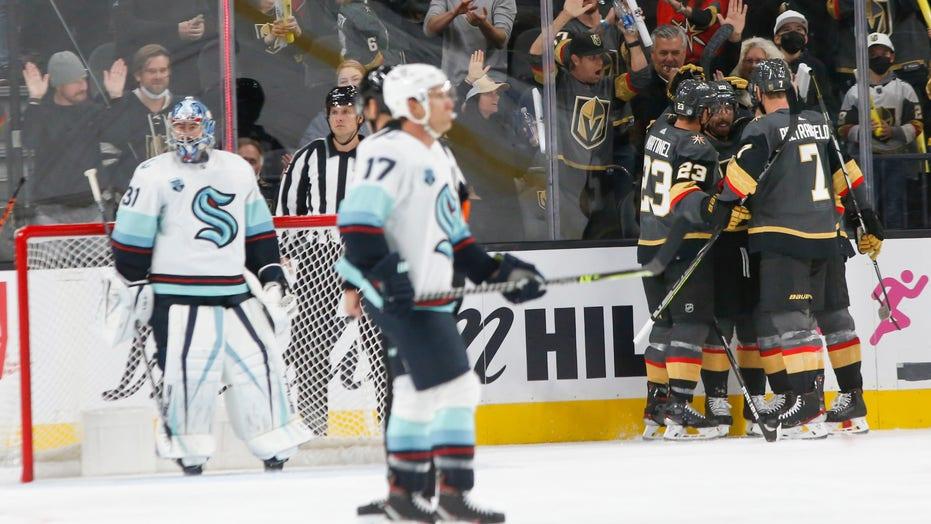 Vegas defeats Seattle, 4-3, ruins Kraken league debut