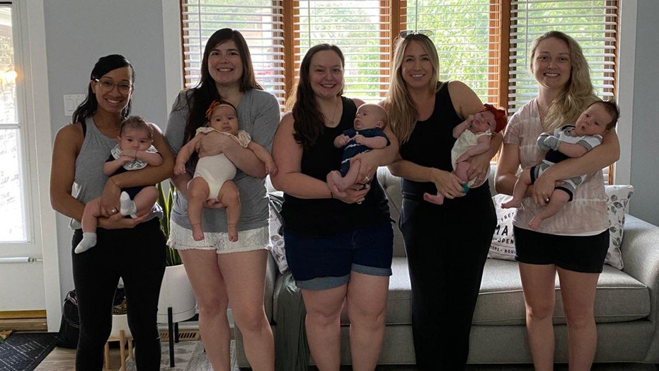 5 NICU nurses give birth within 1 month of each other: 'Simultaneous joy'