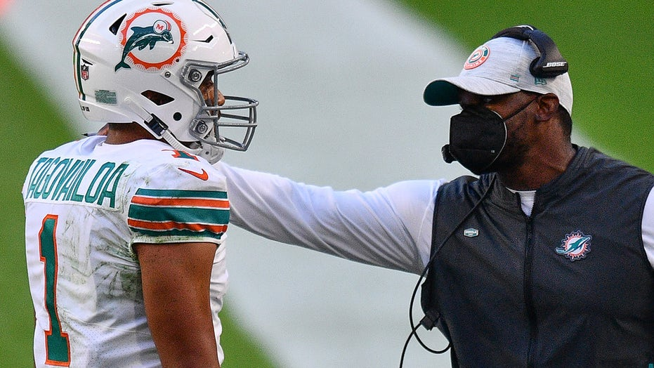 Tua Tagovailoa 'is our quarterback,' Dolphins coach Brian Flores says amid Deshaun Watson rumors
