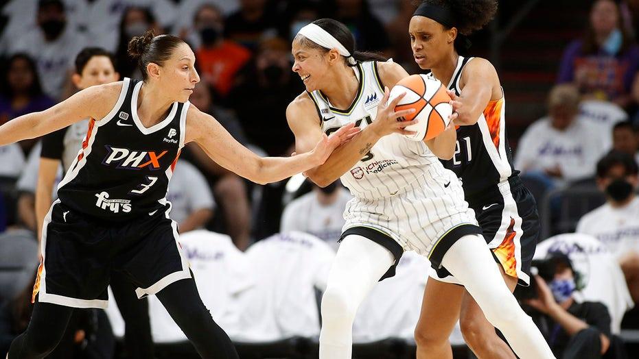 Sky open WNBA Finals with 91-77 win over Mercury