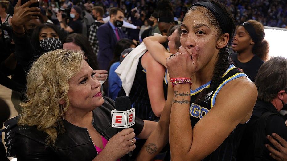 WNBA star Candace Parker pays tribute to Kobe, Gigi Bryant after Sky's championship