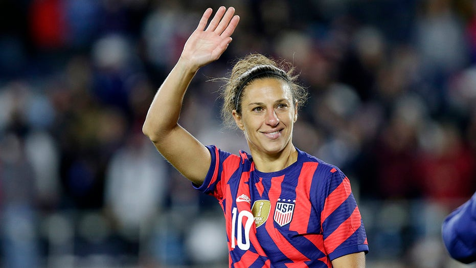 Carli Lloyd caps off illustrious US Soccer career with 6-0 rout of South Korea