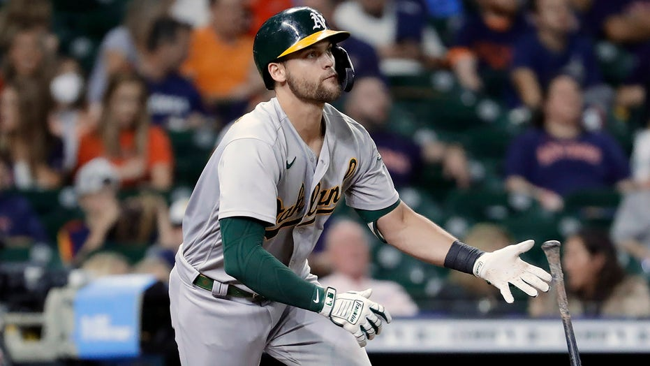 Astros' edge for home field in playoffs cut with loss to A's