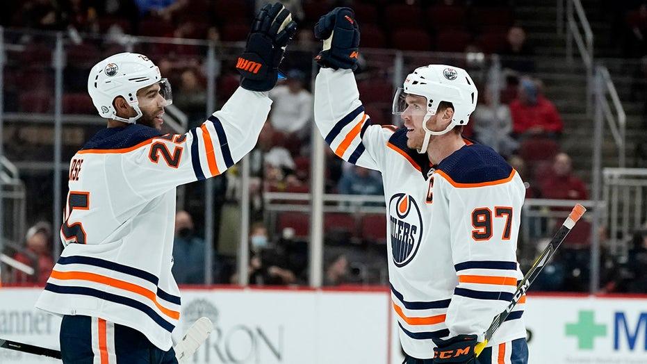 McDavid tops 200 goals in Oilers' 5-1 win over Coyotes