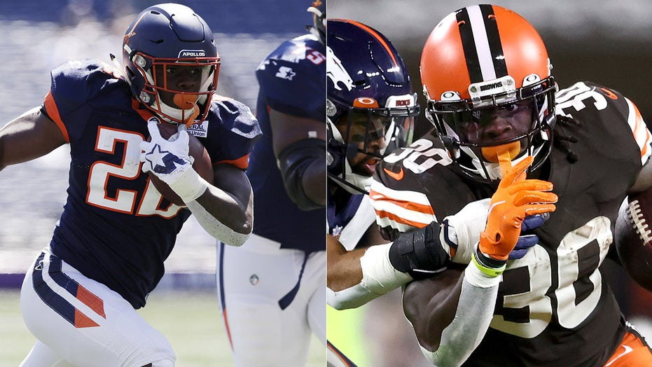 Browns' D'Ernest Johnson did this trying to get tryout with AAF team years before breakout game
