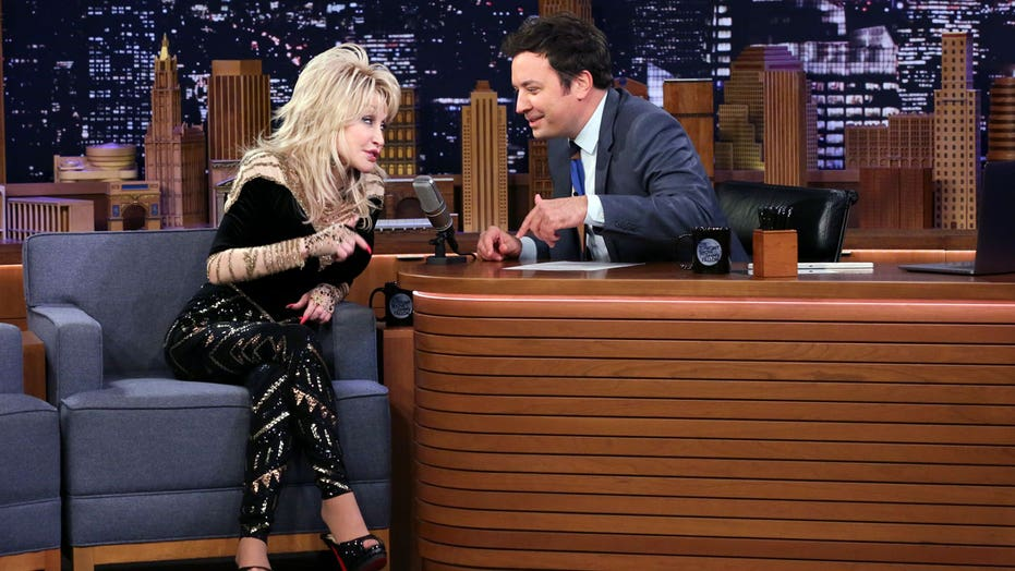 Dolly Parton admits she has a crush on Jimmy Fallon: 'We get along so good'