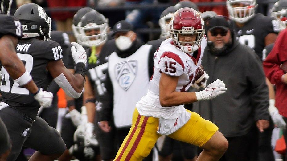 USC WR Drake London is rock-steady star on team in turmoil