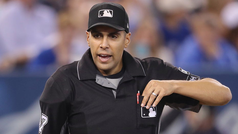 Umpire Gabe Morales explains Wilmer Flores strikeout call: 'I thought he went'