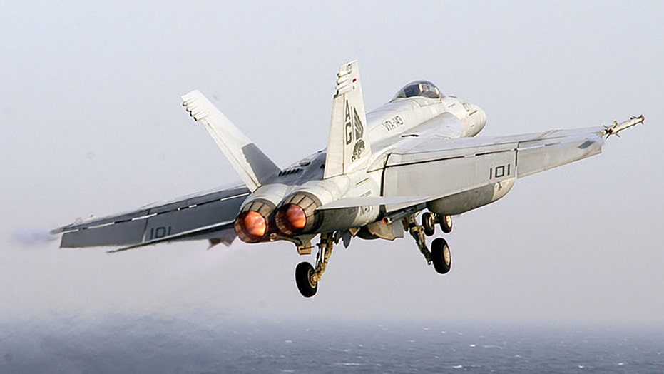 US Navy jet crashes in Death Valley; pilot safely ejects
