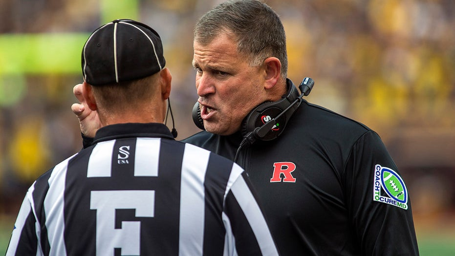 Rutgers' Greg Schiano takes issue with Michigan State's Mel Tucker using 'keep chopping' mantra