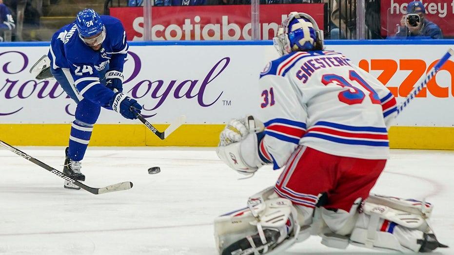 Panarin, Shesterkin lead Rangers over Maple Leafs 2-1 in OT