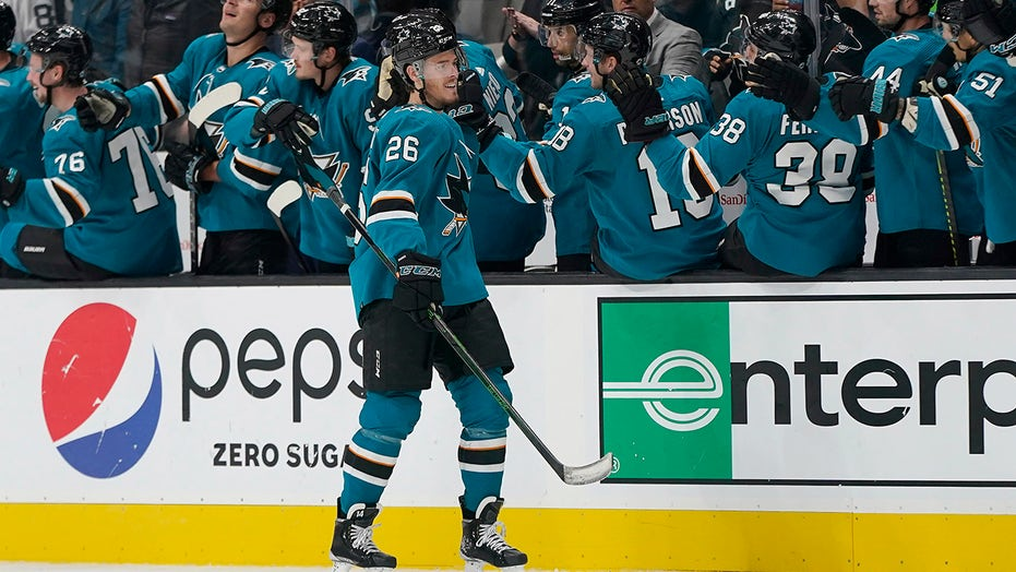 Youth movement powers Sharks past Jets 4-3 in opener