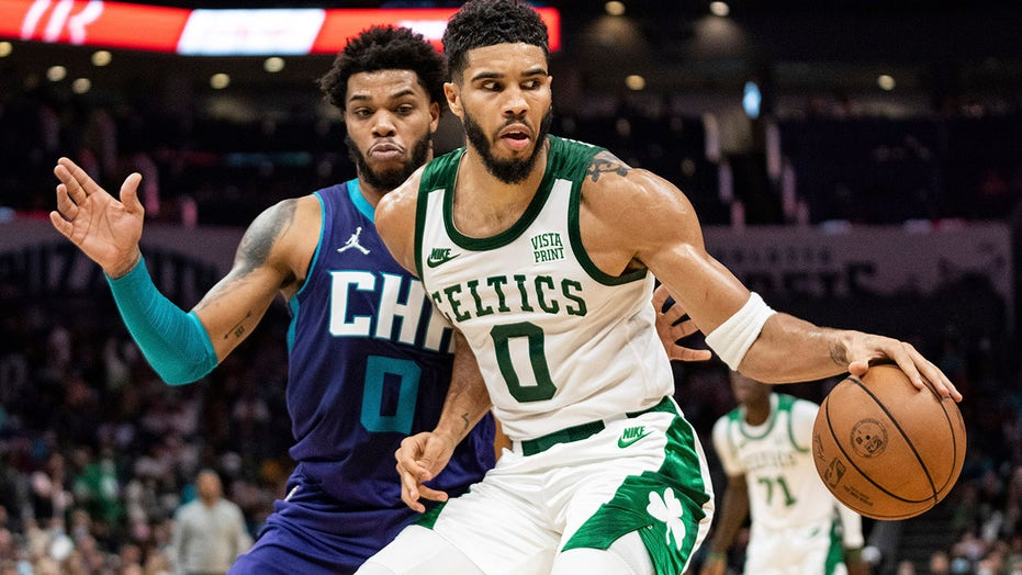 Tatum scores 41 points as Celtics beat Hornets 140-129 in OT