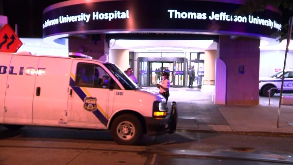 Philadelphia nurse fatally shoots co-worker at hospital, wounds 2 officers in gunfight