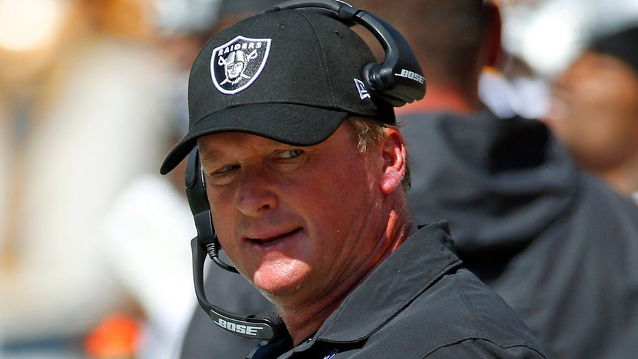 Raiders' Jon Gruden admits more 2011 emails included expletive shots at Roger Goodell