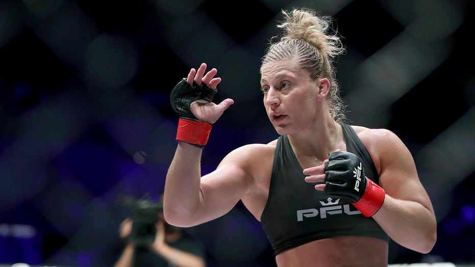 Harrison, now a mother of 2, fights for $1M PFL championship