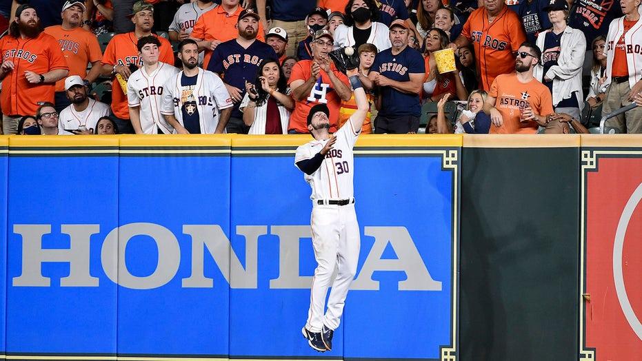 Astros rout A's 10-4, secure ALDS home-field advantage