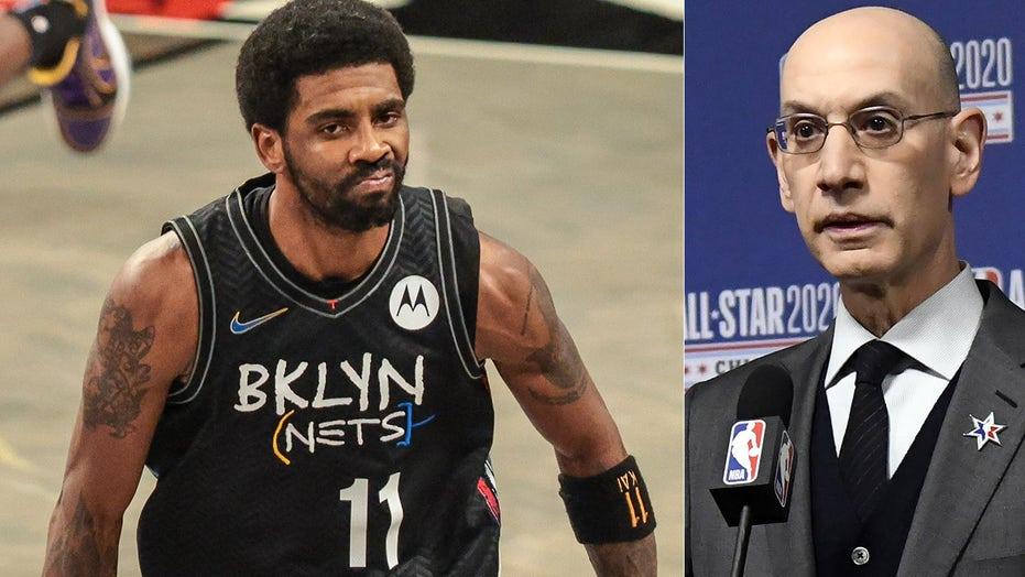NBA's Adam Silver talks Kyrie Irving COVID vaccine drama, supports city mandates