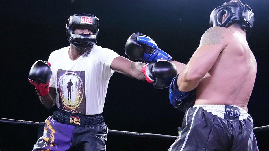 Lamar Odom defeats Jennifer Lopez's ex-husband in celebrity boxing bout