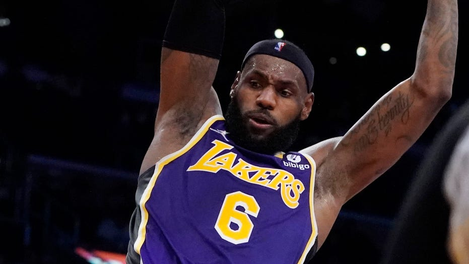 LeBron James chirps Suns' Cam Payne from the bench during Lakers' loss: 'Stay humble'