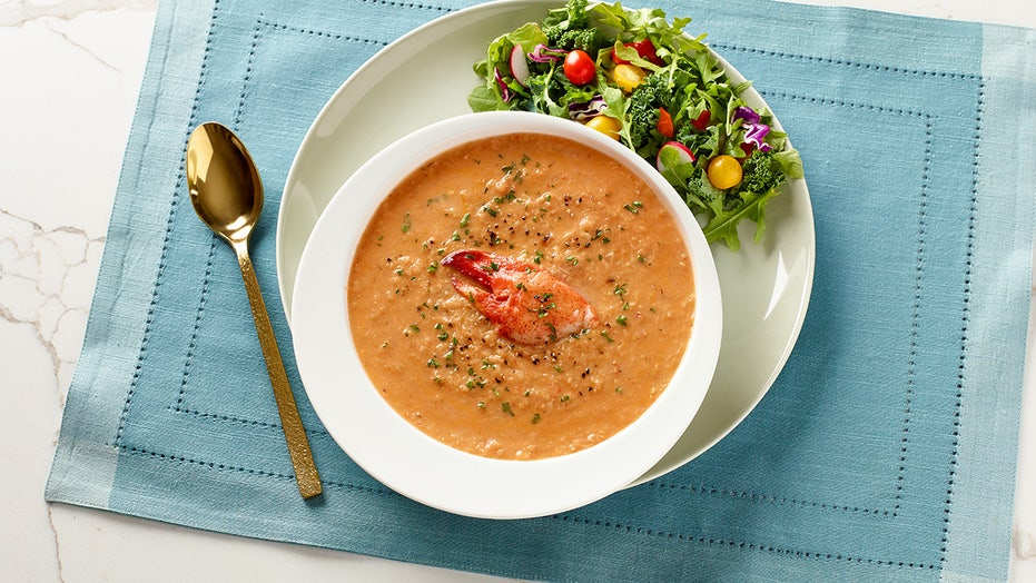 Indulgent lobster bisque recipe for fall