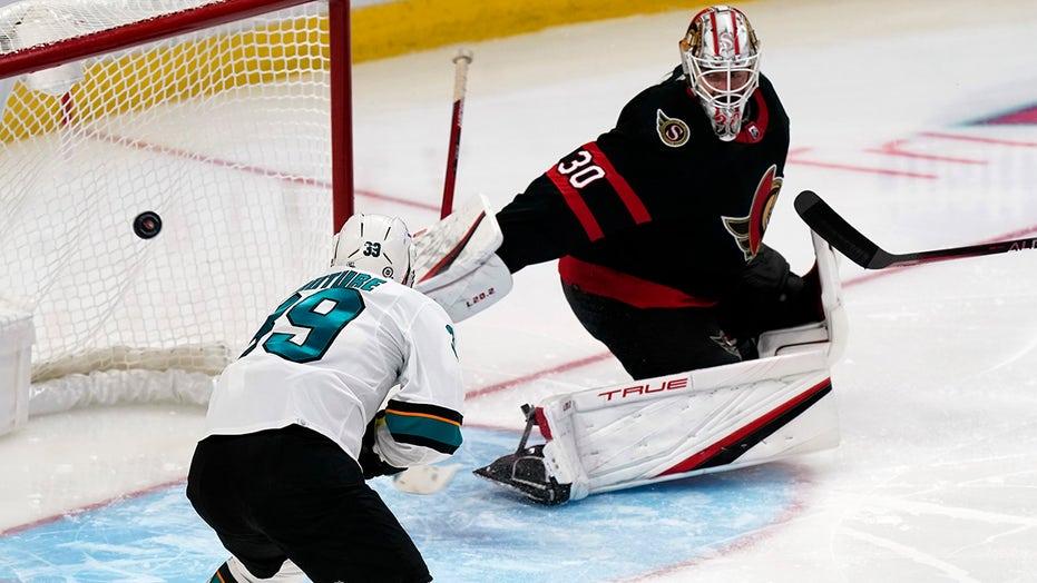 Couture and Labanc score, Sharks beat Senators 2-1