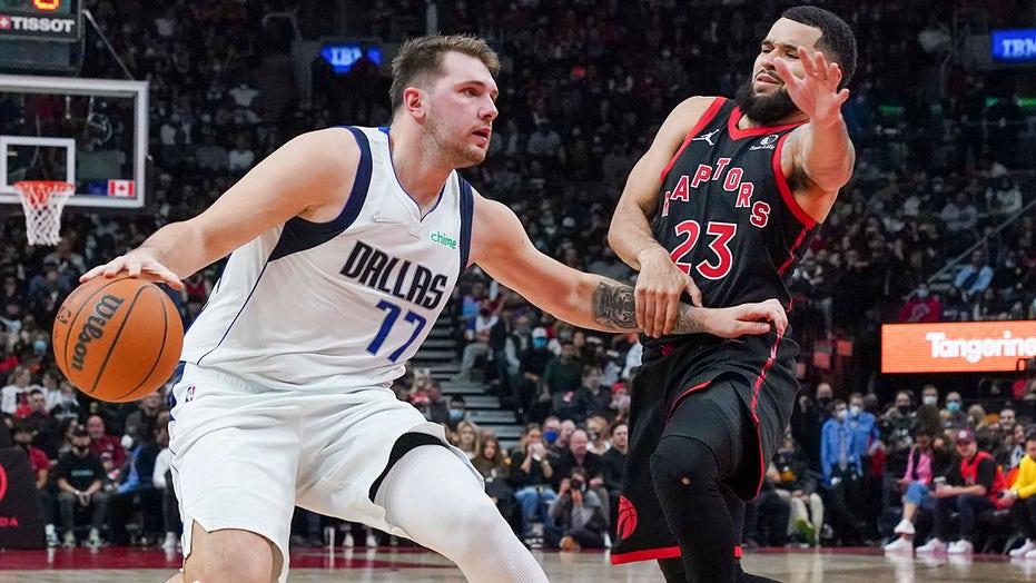 Doncic has 27 points, 12 assists as Mavs beat Raptors 103-95