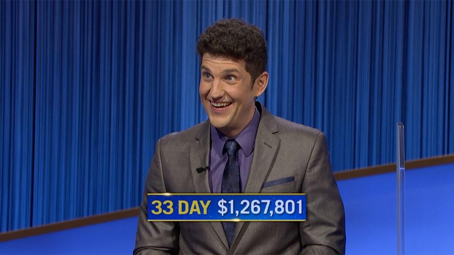 'Jeopardy!' champion Matt Amodio talks 33-game winning streak: 'A lot of luck'