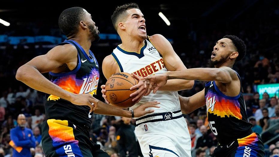 Jokic scores 27 points, Nuggets beat Suns 110-98