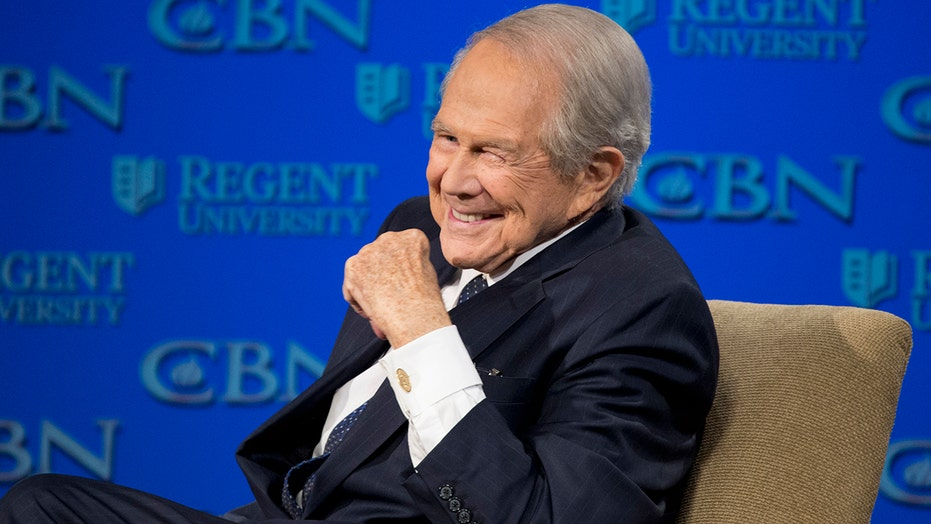 '700 Club' host Pat Robertson steps down after 54 years