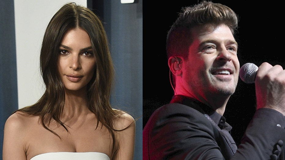 Emily Ratajkowski accuses Robin Thicke of groping her while they filmed a music video together