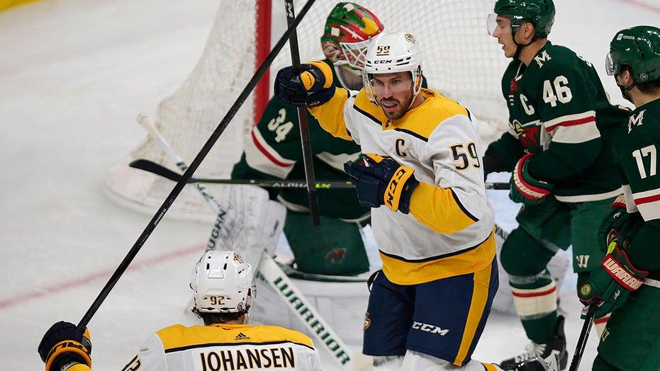 Josi's 4-point game fuels Predators 5-2 victory over Wild